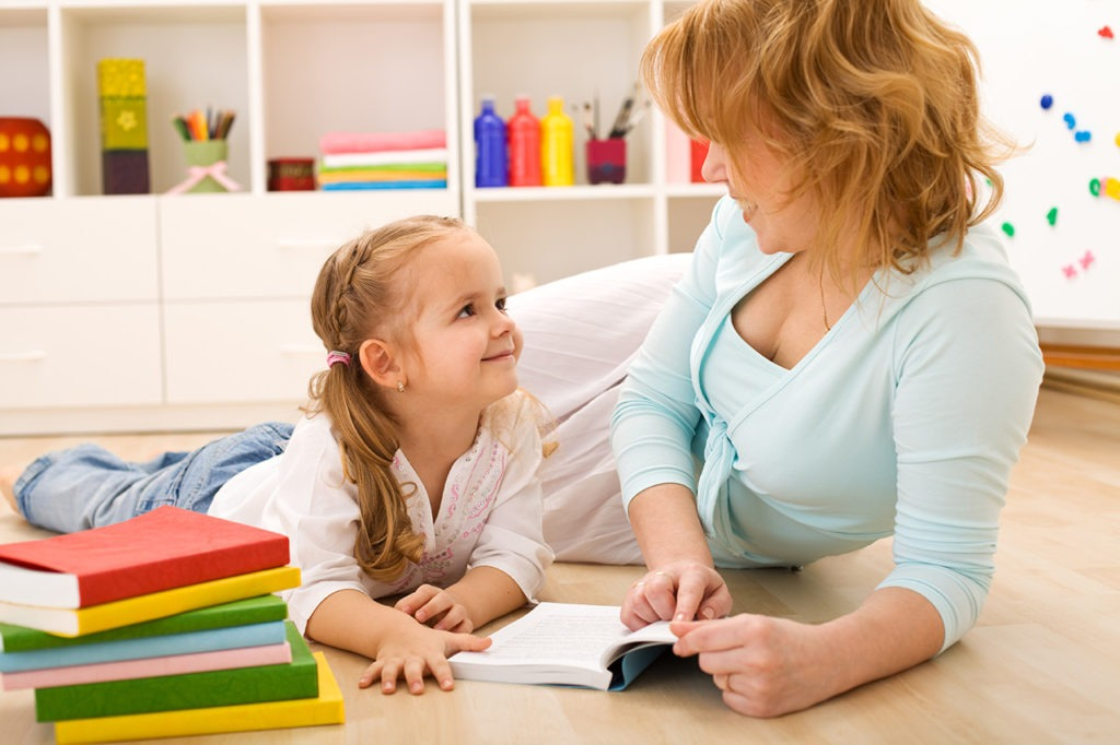 Ámbito tranquilo: tanto para la madre como para su hijo